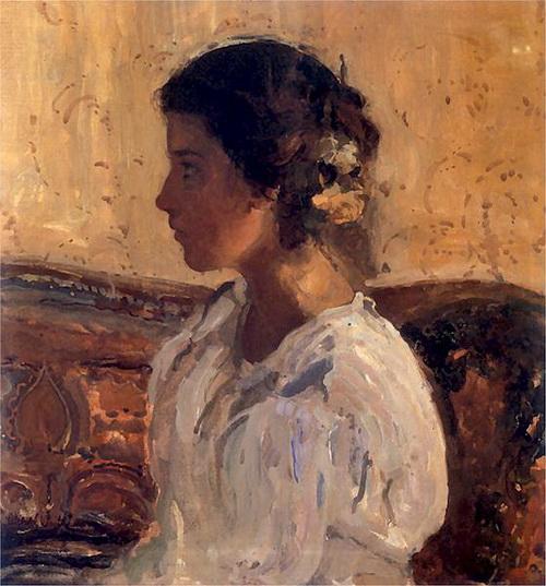 Witold Wojtkiewicz - Portret Lizy Parenskiej