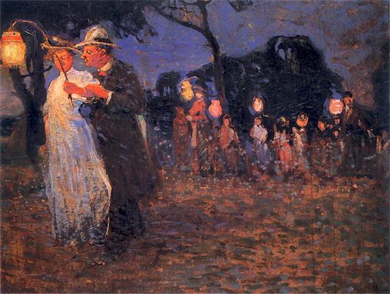 Witold Wojtkiewicz - Garden party