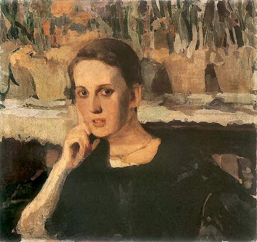Witold Wojtkiewicz - Portret Maryny Raczynskiej