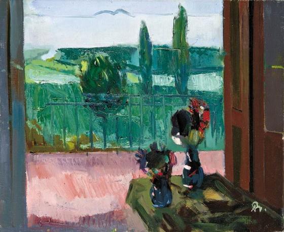 Bernath Aurel -  Still Life with Flowers