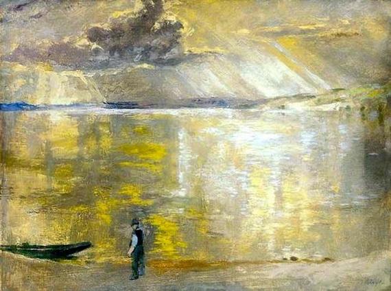 Istvan Szonyi - On the Riverside