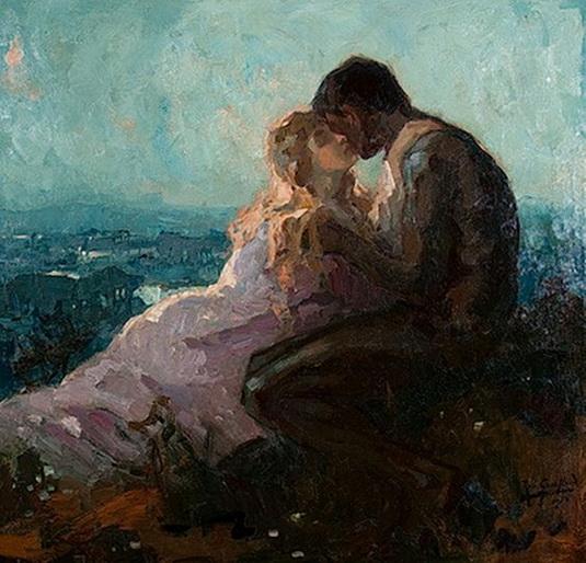 Robert Archibald Graafland - Young Love