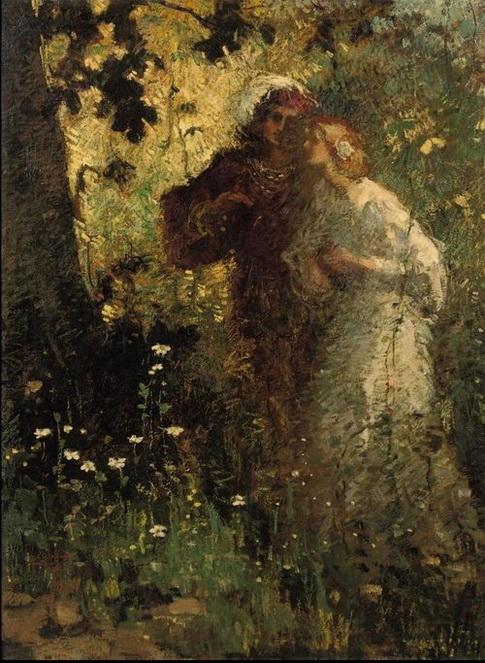 Robert Archibald Graafland -  young lovers