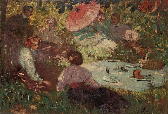 Robert Archibald Graafland -  Picknick