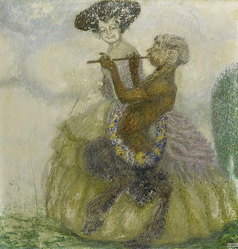 Hanns Pellar - Faun and woman
