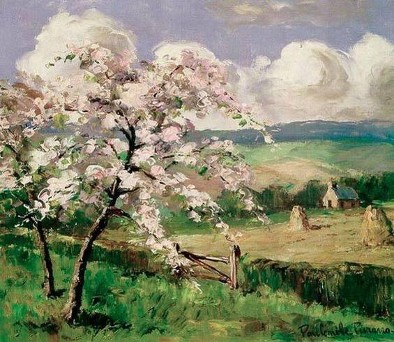 Camille PISARRO - Pommiers en fleurs