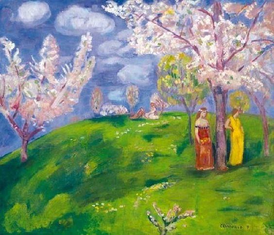 Bela Ivanyi Grunwald - Spring blooming