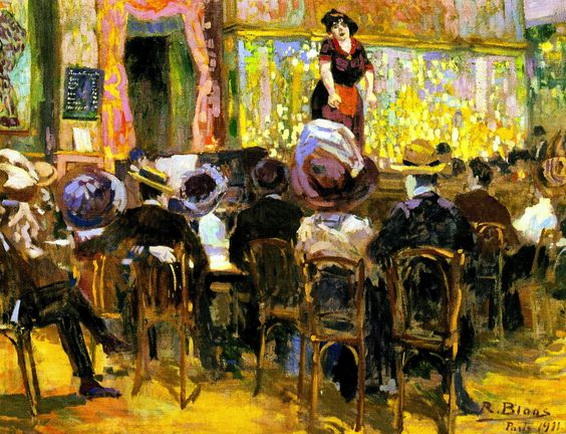 Richard Bloos - Cafe Chantant in Paris