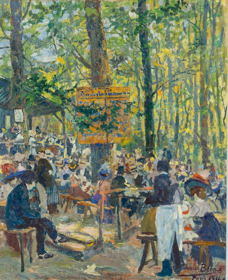 Richard Bloos - Luxembourg Garden, Paris