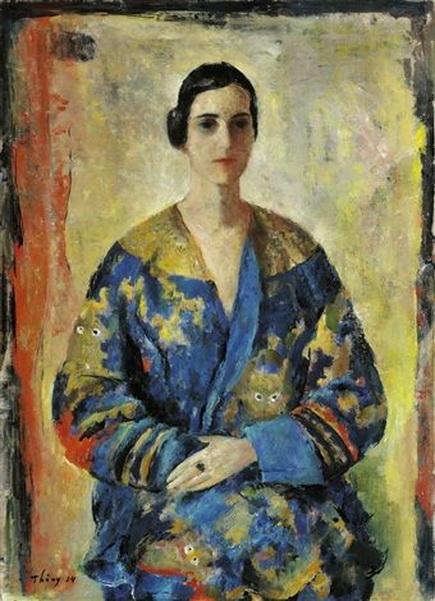 Wilhelm Thony - Portrait Thea Trautner