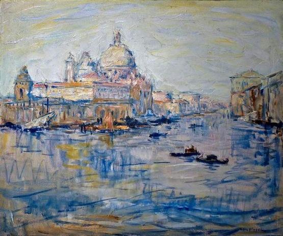Otto Pippel - Venice  S. Maria della Salutec