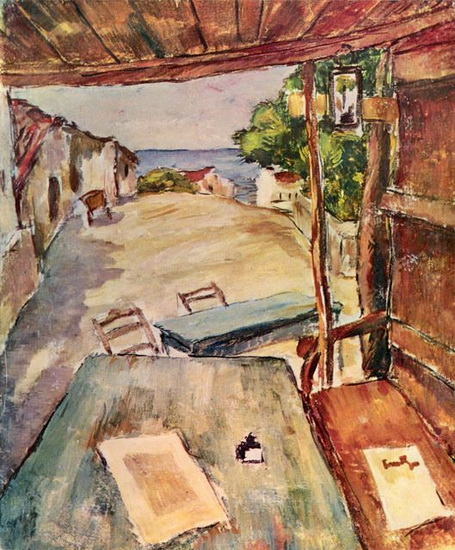 Nicolae Tonitza - Cafenea in Mangalia