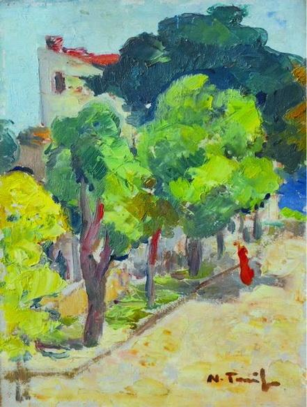 Nicolae Tonitza - Colt de strada