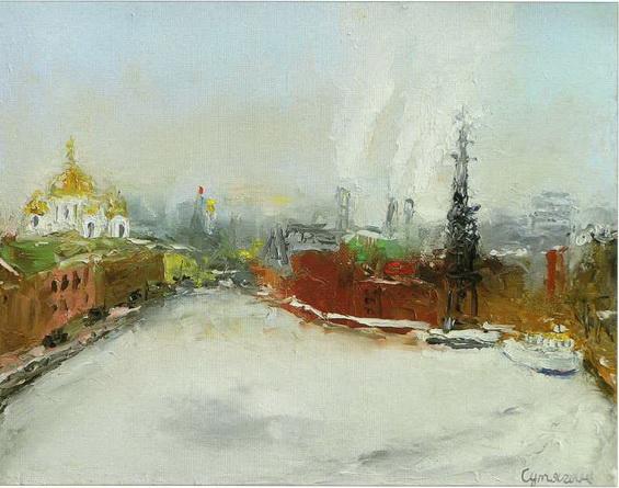 Сутягин - Москва-река