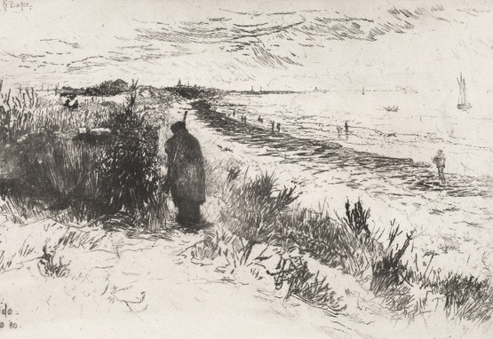 Otto Henry Bacher - Venice  The Lido