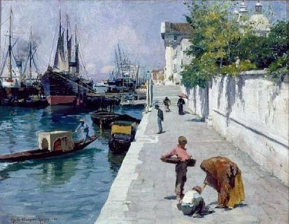 Otto Henry Bacher - Venice Zatteri
