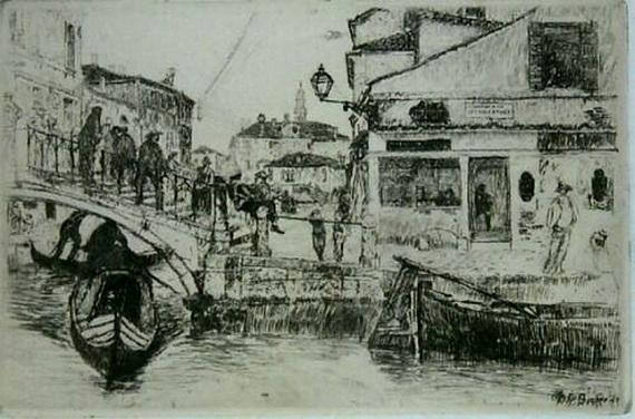 Otto Henry Bacher - Venice