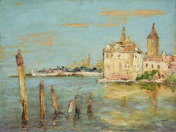 Wlodzimierz Terlikowski - Venice  Widok z Wenecji