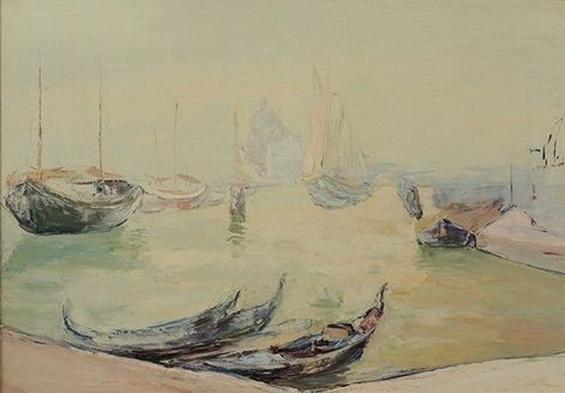 Wlodzimierz Terlikowski - Venice  view of the grand canal