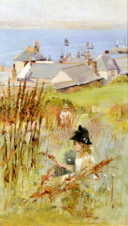 Norman Garstin - From The Meadow