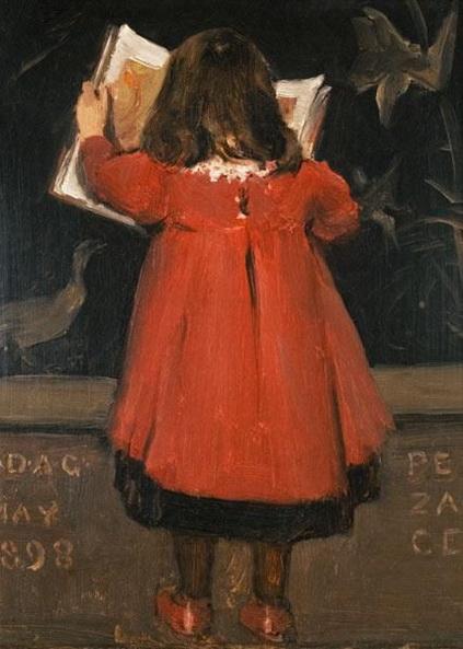 Norman Garstin - Portrait of the Artist's Daughter