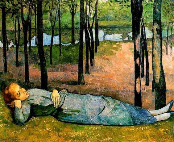 Emile Bernard - Madeleine au Bois d'Amour, 1888
