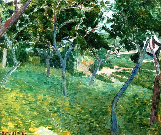 Emile Bernard - Landscape 2
