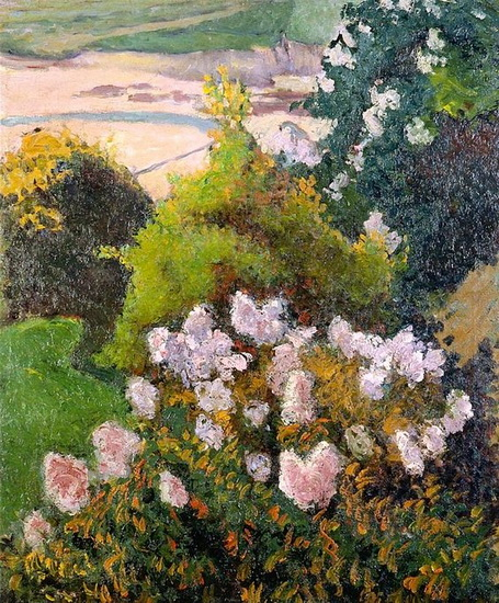 Emile Bernard - Landscape at Saint-Briac