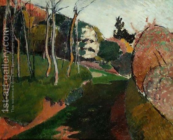 Emile Bernard - Landscape