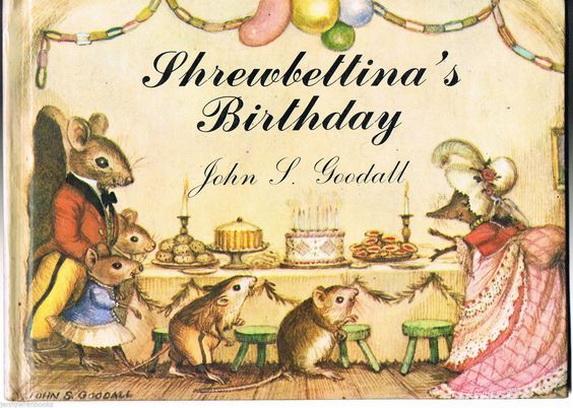 John Strickland Goodall  - Shrewbettina's Birthday'