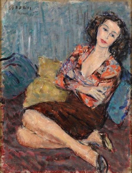 Dimitrie Berea - Contemplation