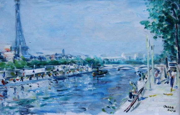 Dimitrie Berea - Peisaj din Paris