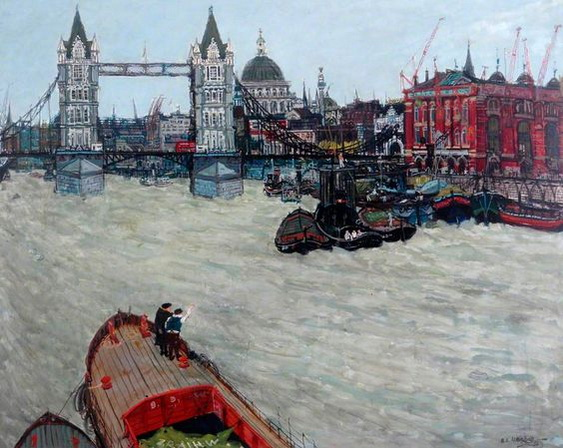 Eric Atkinson - Tower Bridge, London