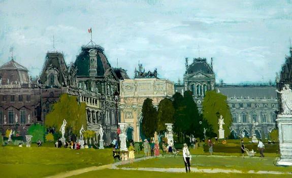 Eric Atkinson - Les Tuileries, Paris, France