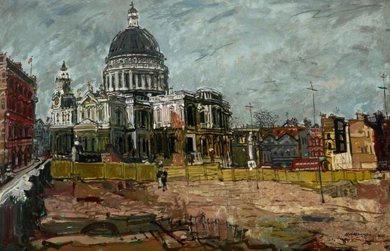 Eric Atkinson - St Paul's Cathedral, London