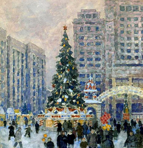 Michael Bobyshev - Елка на Манежной площади