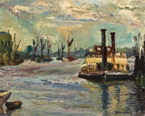 Ronald Ossory Dunlop - Woolwich Ferry