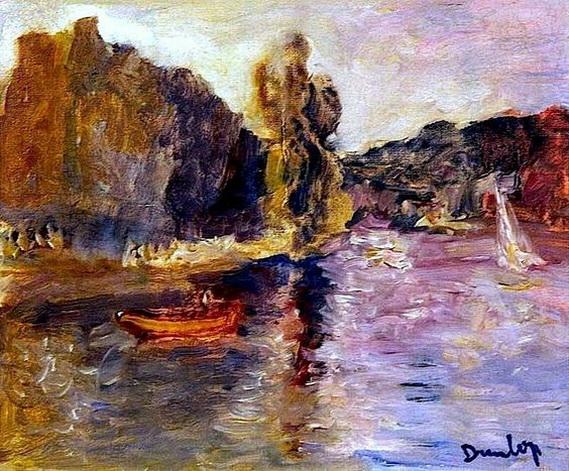 Ronald Ossory Dunlop - Riverscape