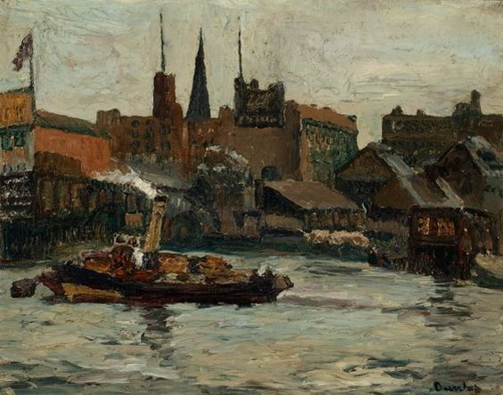 Ronald Ossory Dunlop - Waterloo from the Thames