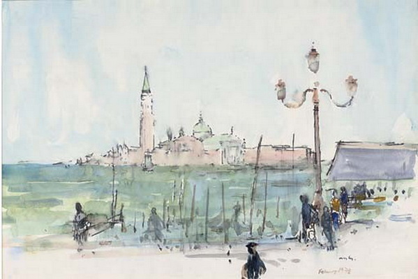 Charles Alfred Mozley - Venice 2