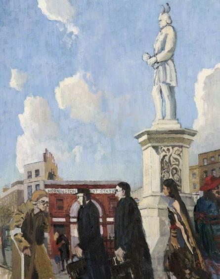 Geoffrey Scowcroft Fletcher - Mornington Crescent