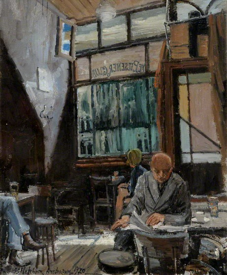Geoffrey Scowcroft Fletcher - Pilsner Bar, Amsterdam