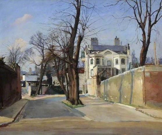 Geoffrey Scowcroft Fletcher - Admiral's House, Hampstead