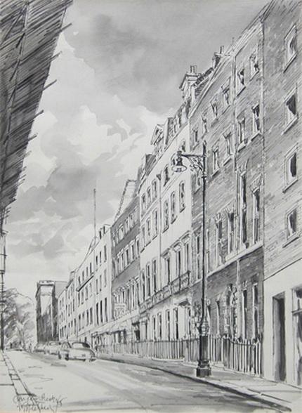 Geoffrey Scowcroft Fletcher - Clarges Street