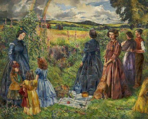 Geoffrey Scowcroft Fletcher - A Summer Afternoon