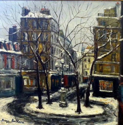 Serge Belloni - Cozyhuarique La Place Furstenberg a Paris,
