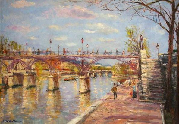 Serge Belloni - Dimanche sur la Seine