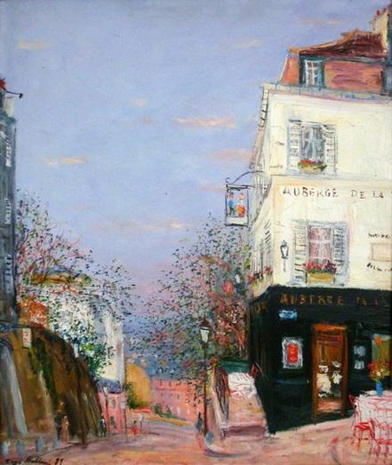 Serge Belloni - Paris Rue des Saules