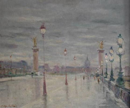 Serge Belloni -  Paysage de Venise