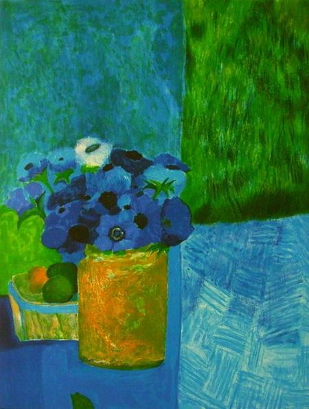 Guy Bardone - Bouquet bleu